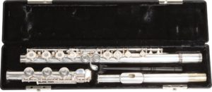 Gemeinhardt Model 3OB Flute, Open Hole, Offset G, B-Foot, Silver Plated